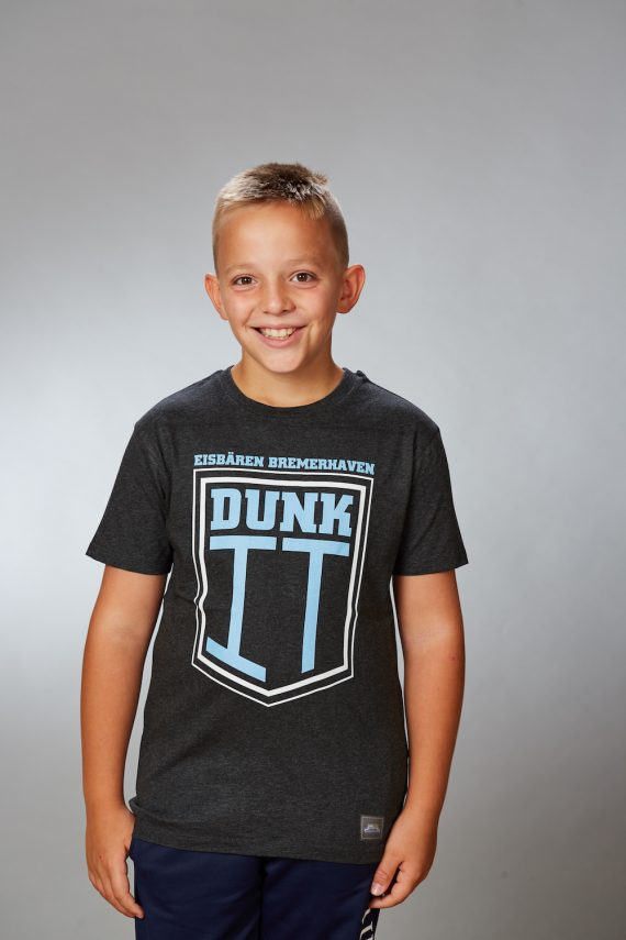 Eisbären Bremerhaven – FanShop – Basketball – TShirt Dunk it Kids anthrazit