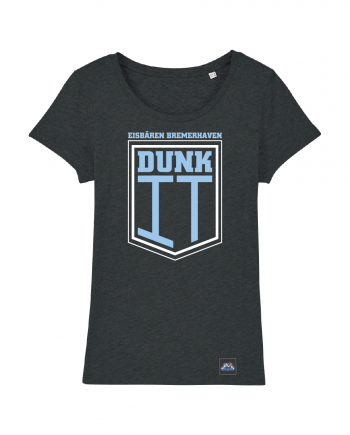 "T-Shirt ""Dunk It"" Damen in charcoal"