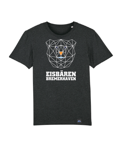 "T-Shirt ""Poly Eisbär"" Kids in charcoal"